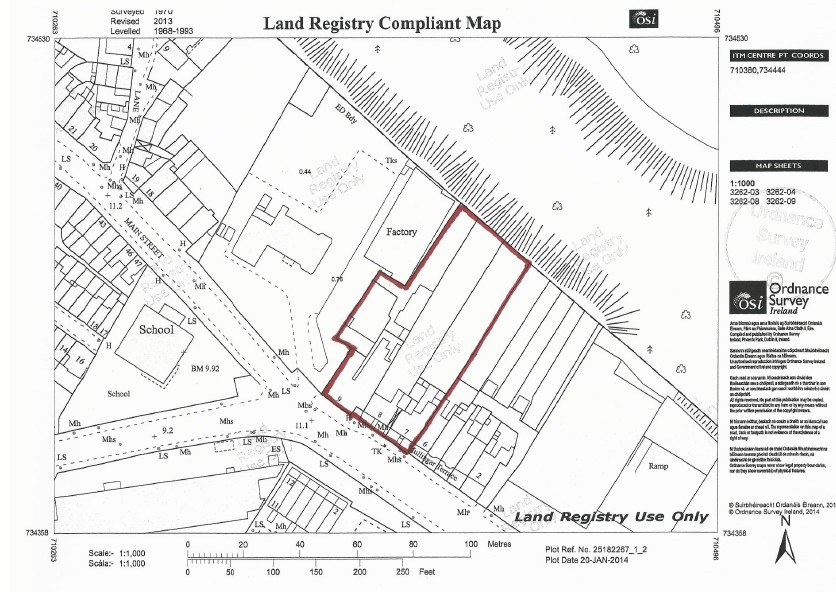 Mullingar House Dublin 20 Plan