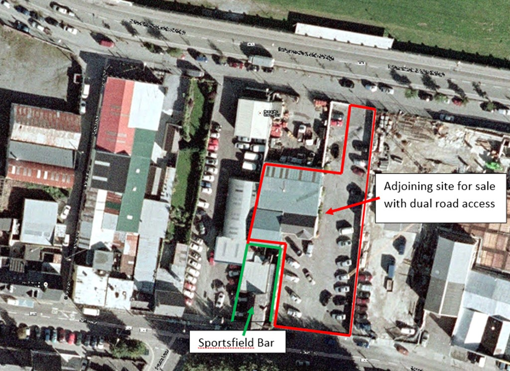 Sportsfield Bar Development Potential