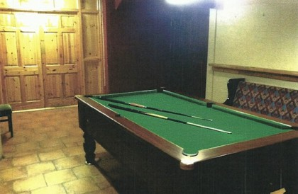 The Dead Man's Inn Pub Poolroom