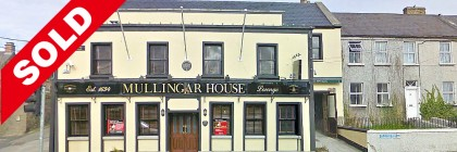 Mullingar House Pub for Sale Sold