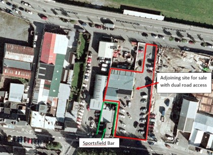 Sportsfield Bar Development Potential