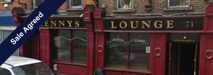 Kennys Lounge Bar Dublin 8 SALE AGREED