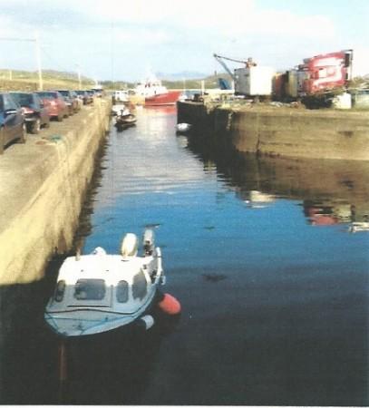 The Pier Cleggan Connemara Ireland